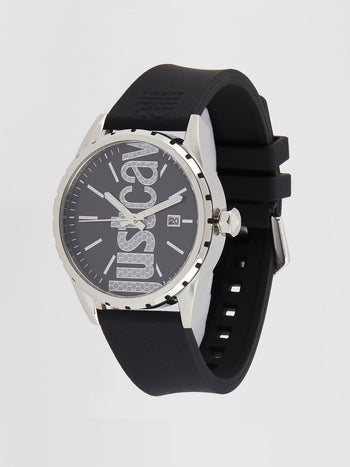 Credo Black Analog Watch