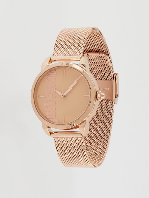 Tenue Gold Milanese Strap Watch