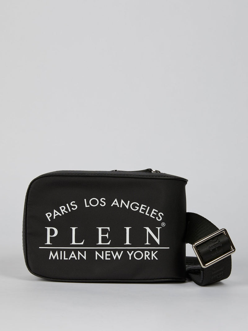 Black Logo Pouch Belt Bag