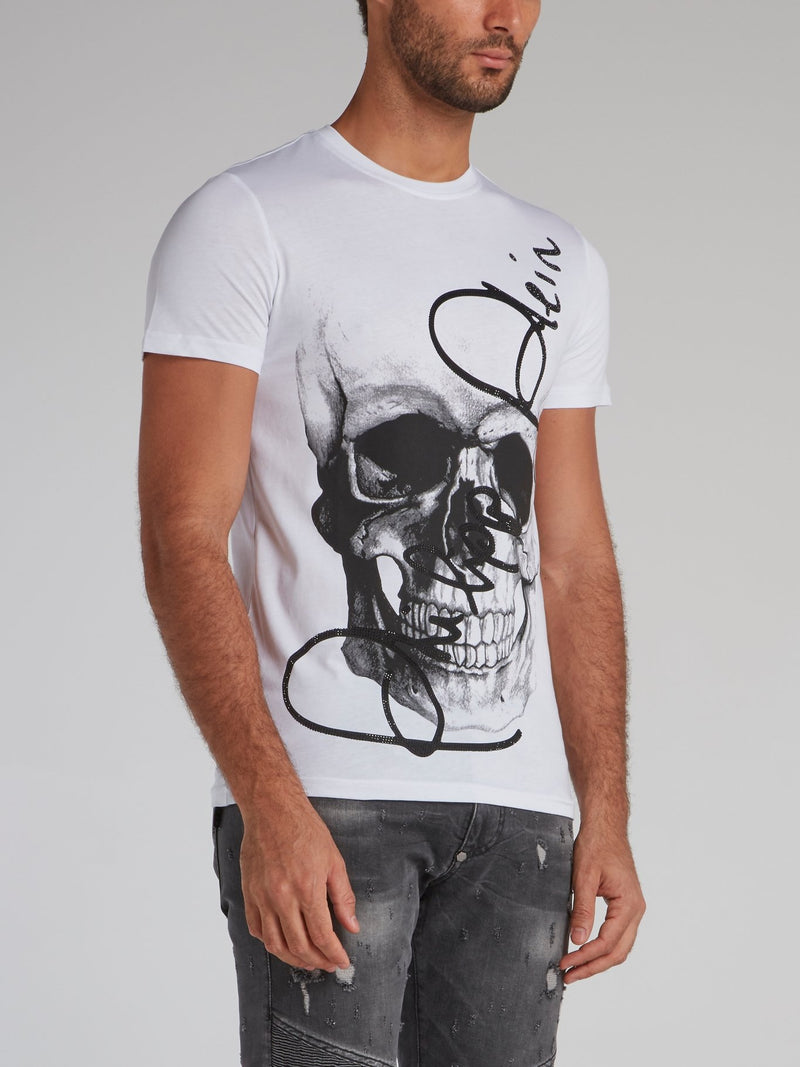 White Skull Signature T-Shirt