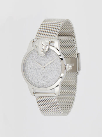 JC Shine 2 Silver Milanese Strap Analog Watch