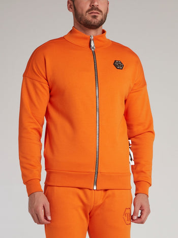 Orange Monogram Jogging Jacket