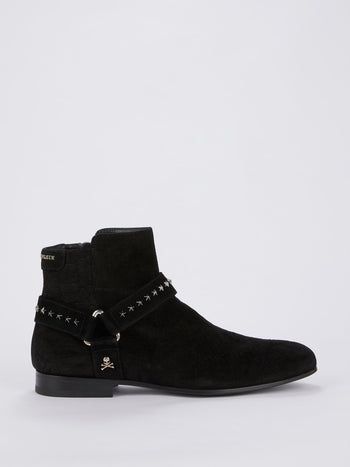 Black Side Zip Chelsea Boots