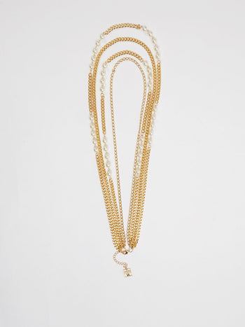 Gold Multi-Chain Necklace