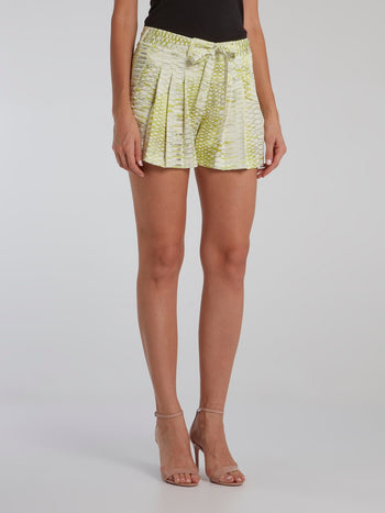 Python Print Pleated Shorts