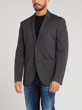 Grey Rear Stripe Jacket