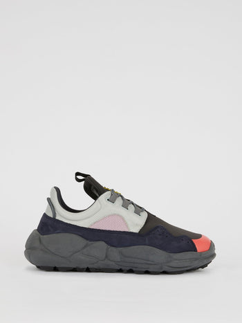 Colour Block Platform Trainers