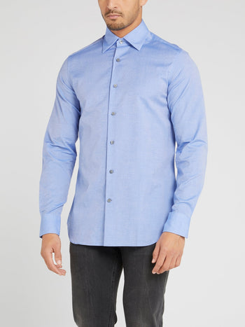 Classic Blue Long Sleeve Shirt