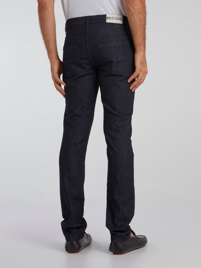 Navy Slim Fit Denim Jeans