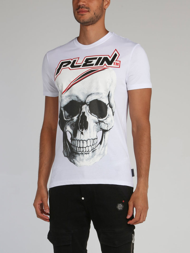 White Space Plein Skull T-Shirt