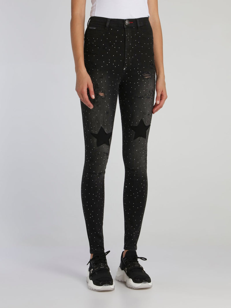Galaxy Super High Waist Jeggings