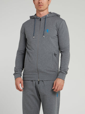 Grey Sport Icon Jacket