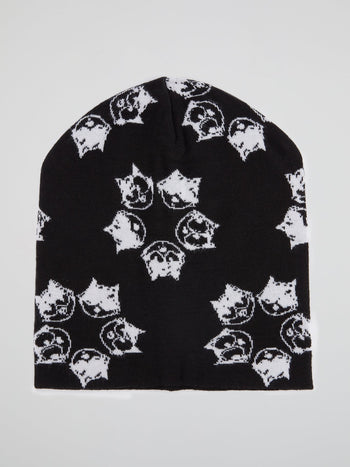 Felix the Cat Black Beanie Hat