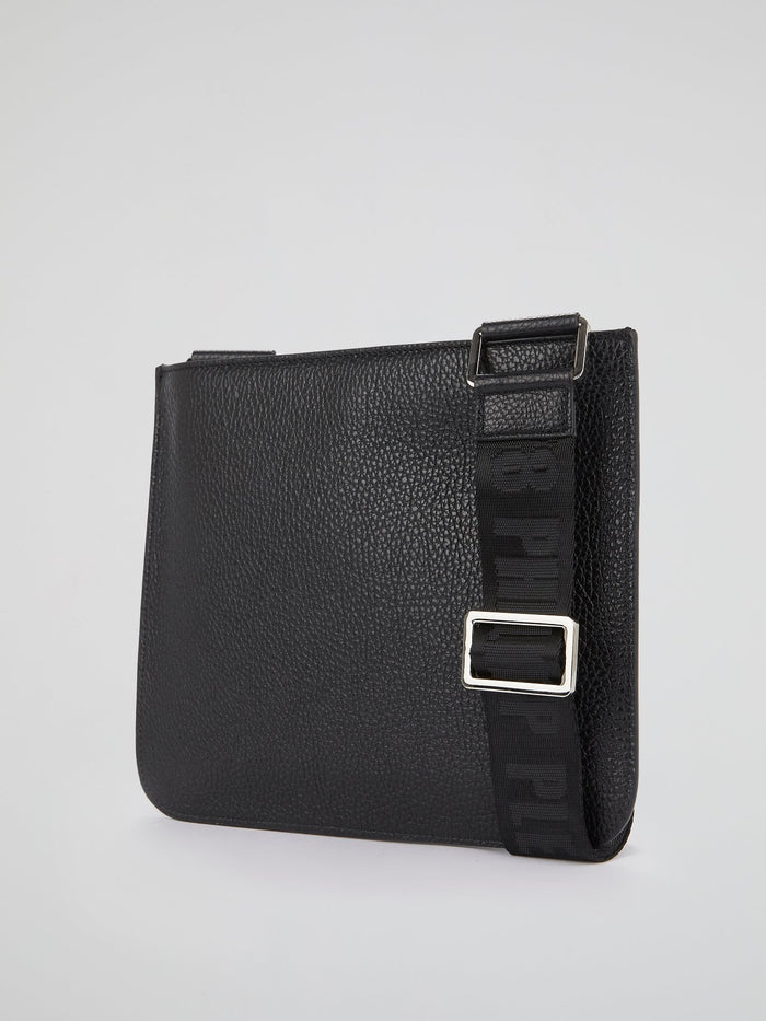 PP1978 Black Logo Crossbody Bag