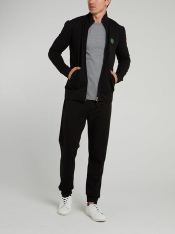 Black Sport Icon Jacket