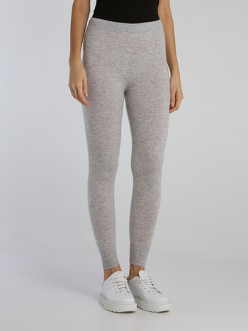 Bimba Grey Knit Leggings