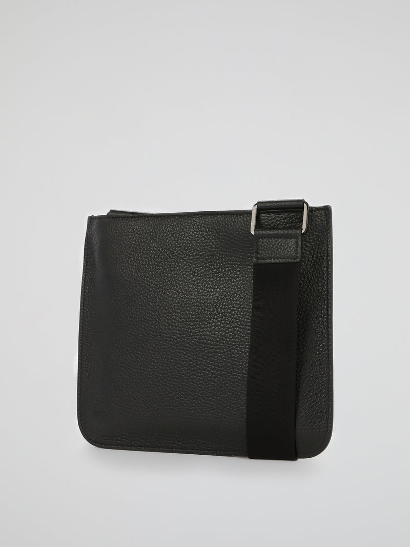 PP1978 Black Leather Sling Bag