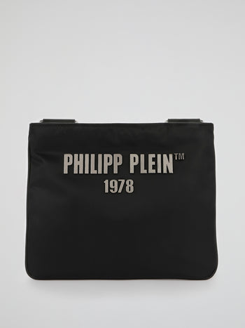 PP1978 Black Logo Sling Bag