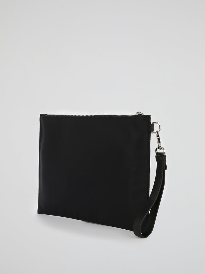 PP1978 Black Logo Clutch