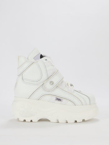 White High Top Chunky Sneakers