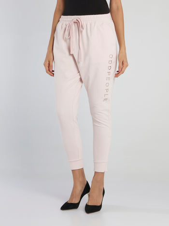Jane Pink Harem Pants