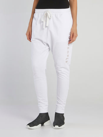 Jane White Harem Pants