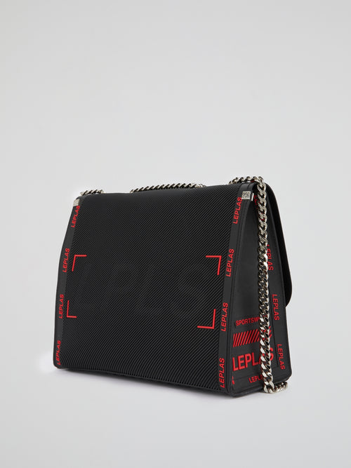 Black Kassandra Neon Shoulder Bag