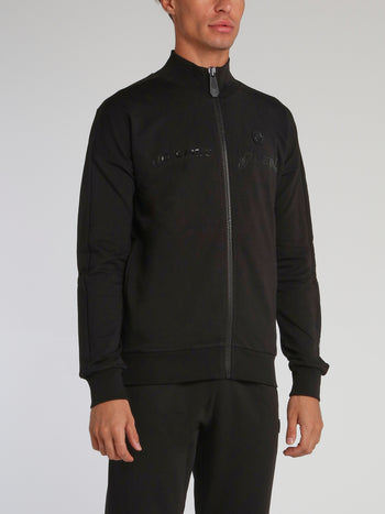 Read Studded Credit Card Jogging Jacket