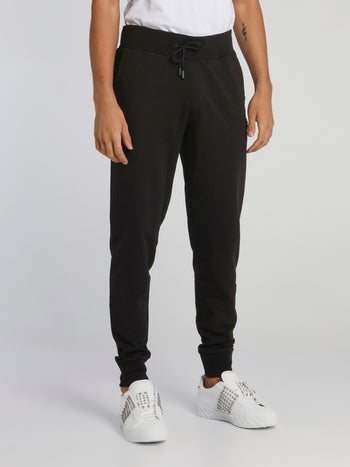 Black Drawstring Jogging Trousers