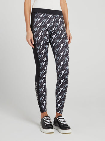 Camo Effect Active Leggings