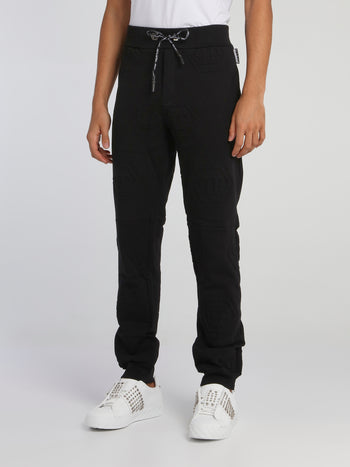 Black Monogram Jogging Trousers