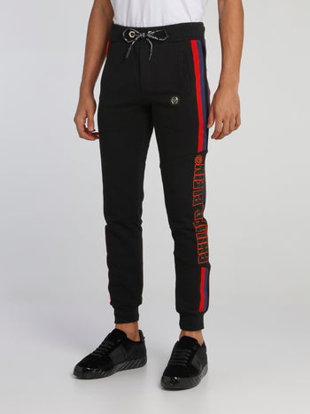 Flame Side Stripe Jogging Trousers