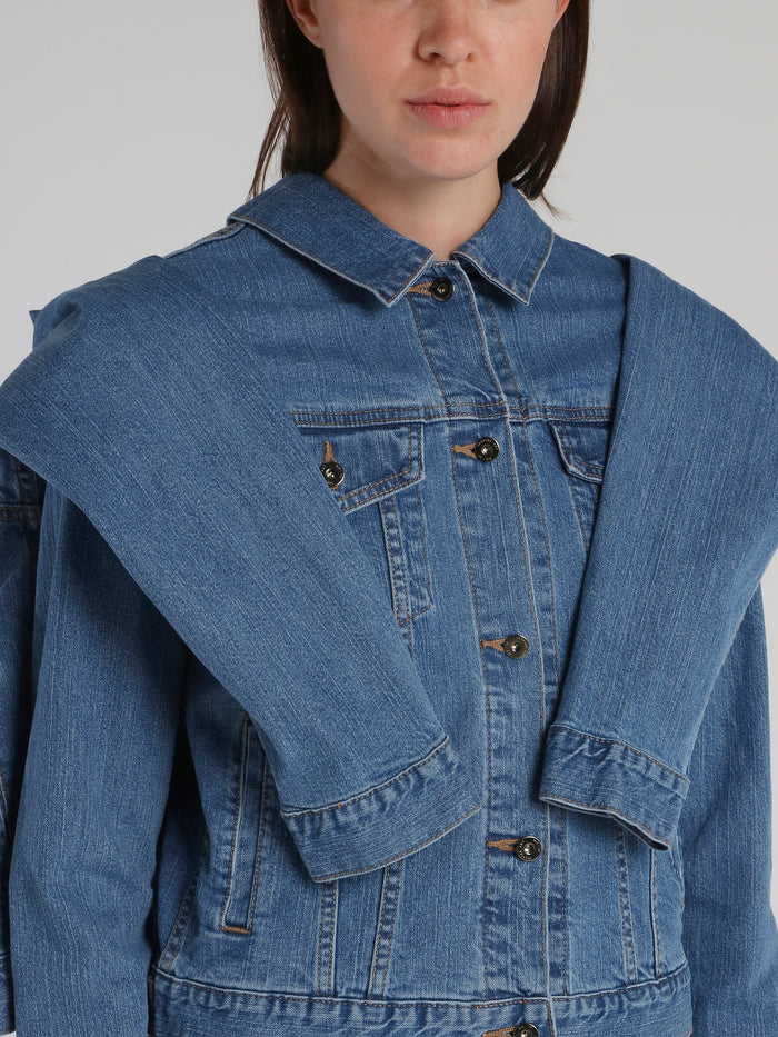 Blue Twin Denim Jacket