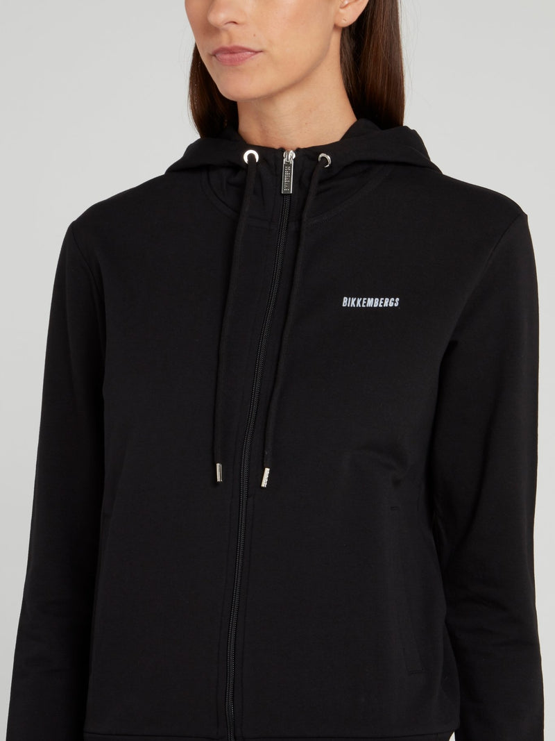 Black Rear Logo Jacket