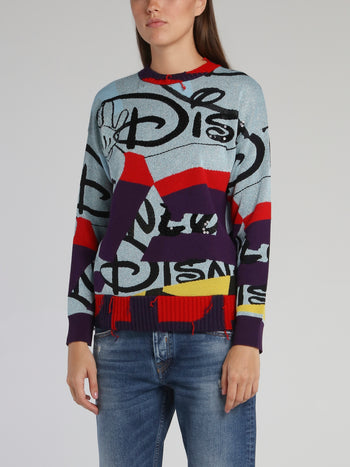 Disney Crewneck Knitted Jumper