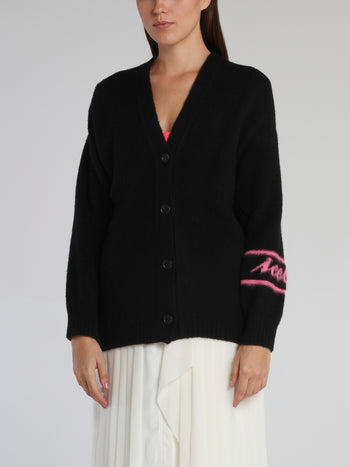Disney Evil Queen Black Knitted Cardigan