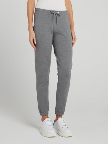 Grey Rear Logo Fleece Pants