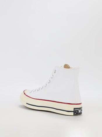 White Chuck 70 Canvas High Top Sneakers