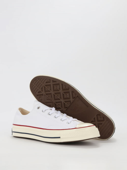 White Chuck 70 Canvas Low Top Sneakers