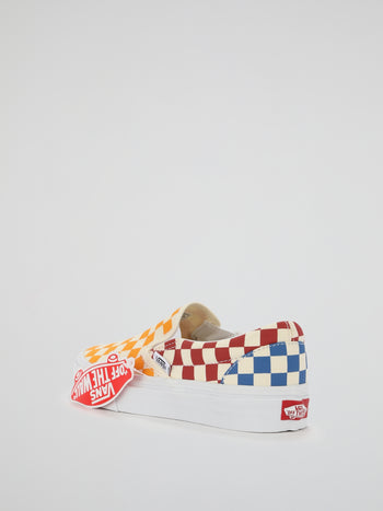 Checkerboard Classic Slip On Sneakers