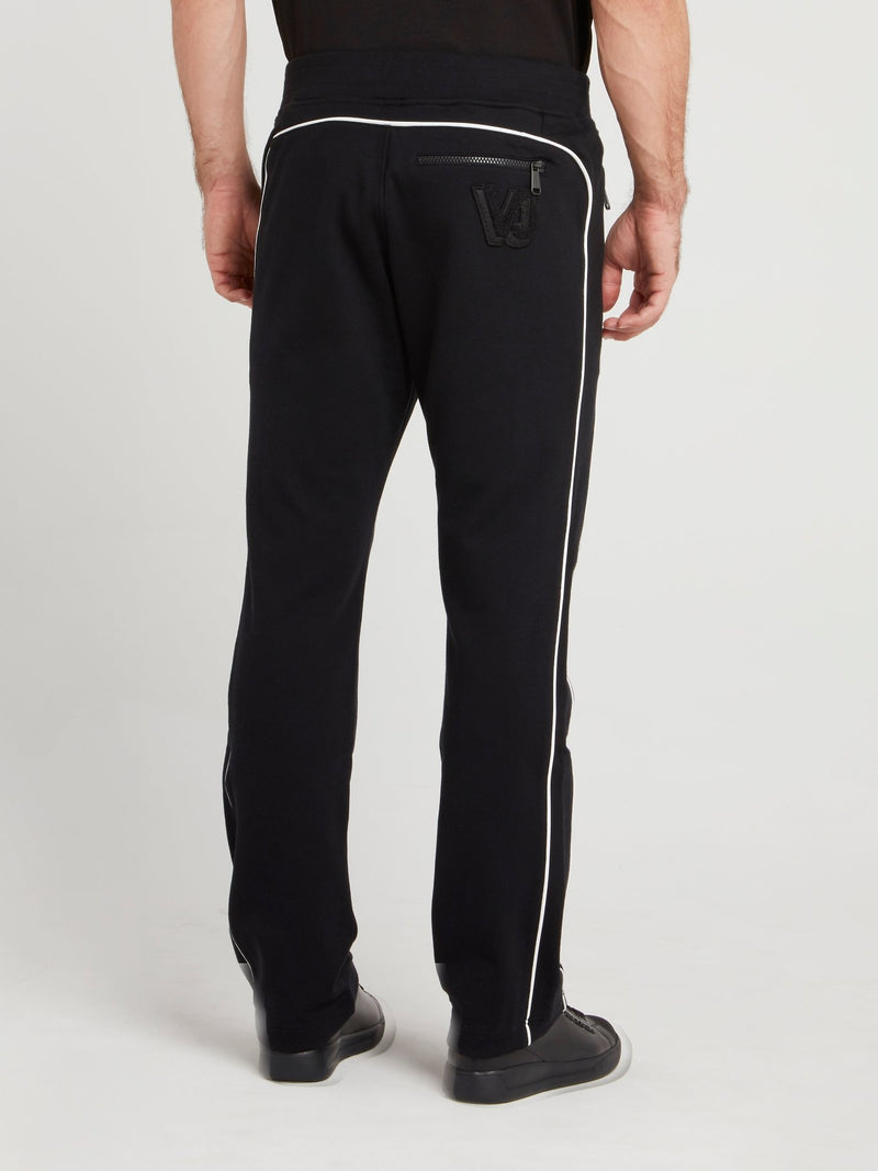 Black Side Stripe Jogging Trousers