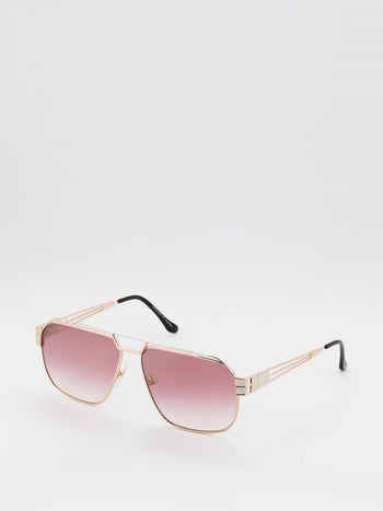 Pink Oversized Sunglasses