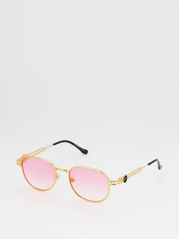 Pink Flash Gradient Sunglasses