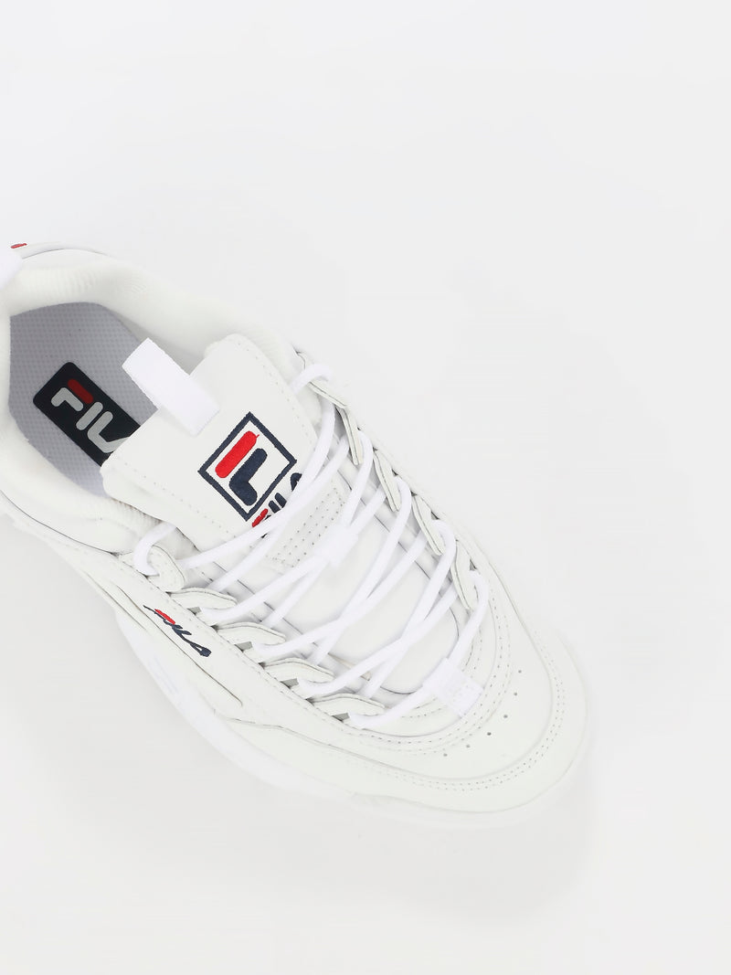 White Disruptor II Sneakers