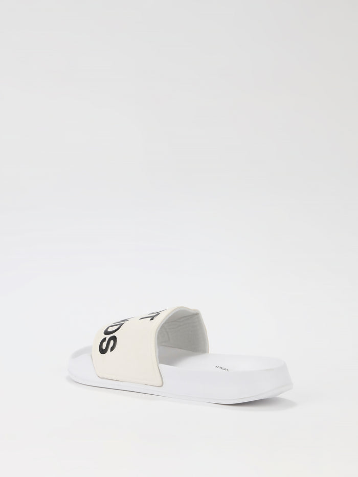 White Logo Slides