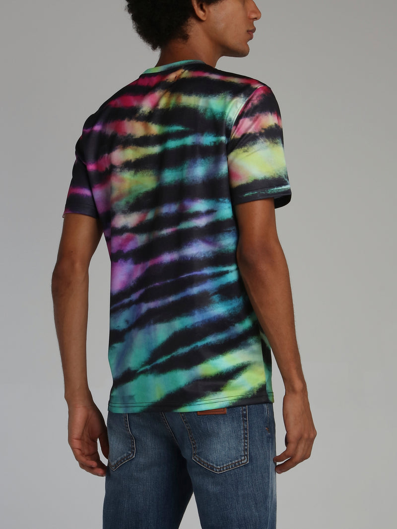 Tie Dye Athletic Dept T-Shirt