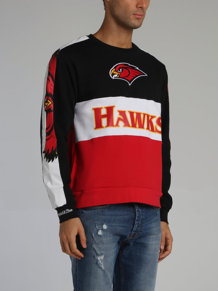 Atlanta Hawks Leading Scorer Black Fleece Sweatshirt