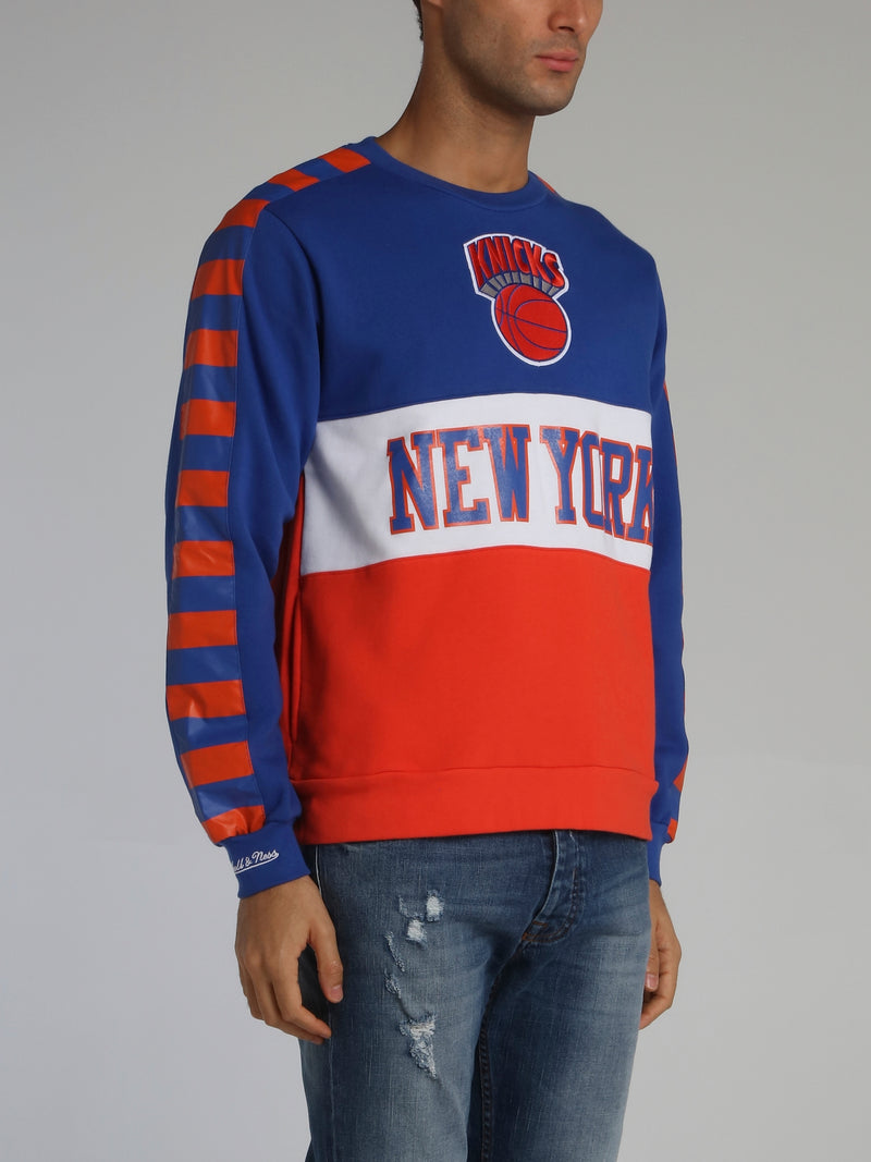 New York Knicks Leading Scorer Blue Fleece Sweatshirt