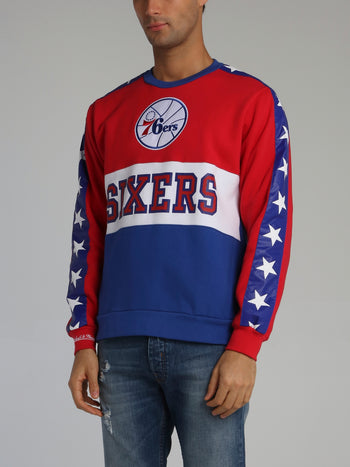 Philadelphia 76ers Leading Scorer Red Fleece Sweatshirt