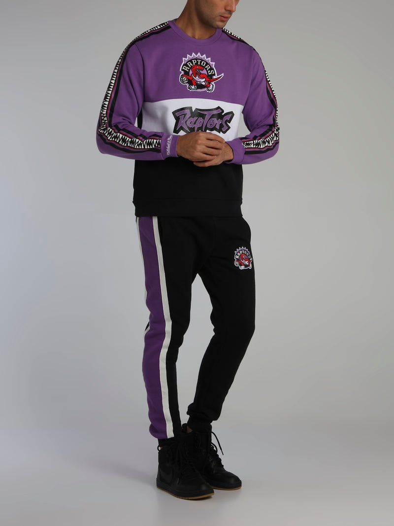 Toronto Raptors Leading Scorer Purple Fleece Sweatshirt